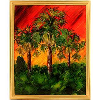 Sunset_Palms